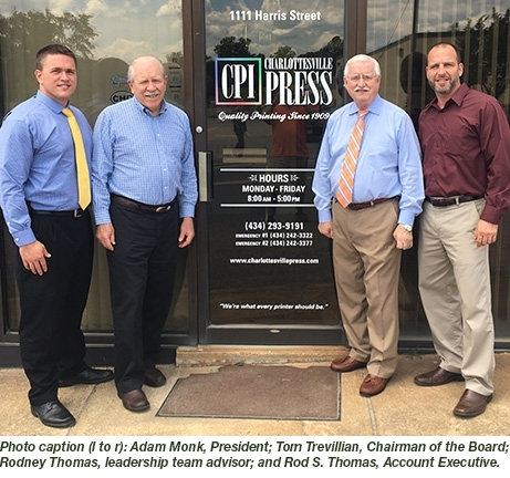 Charlottesville Press Joins Forces With McClung Companies