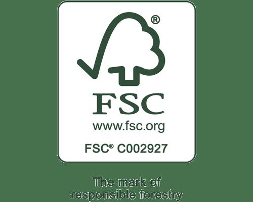 The FSC logo.