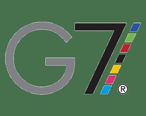The G7 logo.