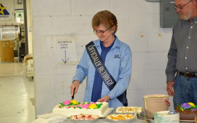 JoAnne Estes, Bindery Coordinator, retires after 38 years
