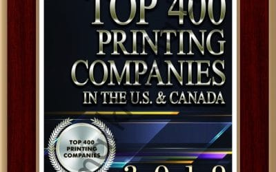 McClung Named in the 2019 Printing Impressions 400
